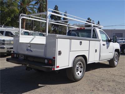 2018 Silverado 1500 Regular Cab 4x2,  Harbor TradeMaster Service Body #C158258 - photo 2