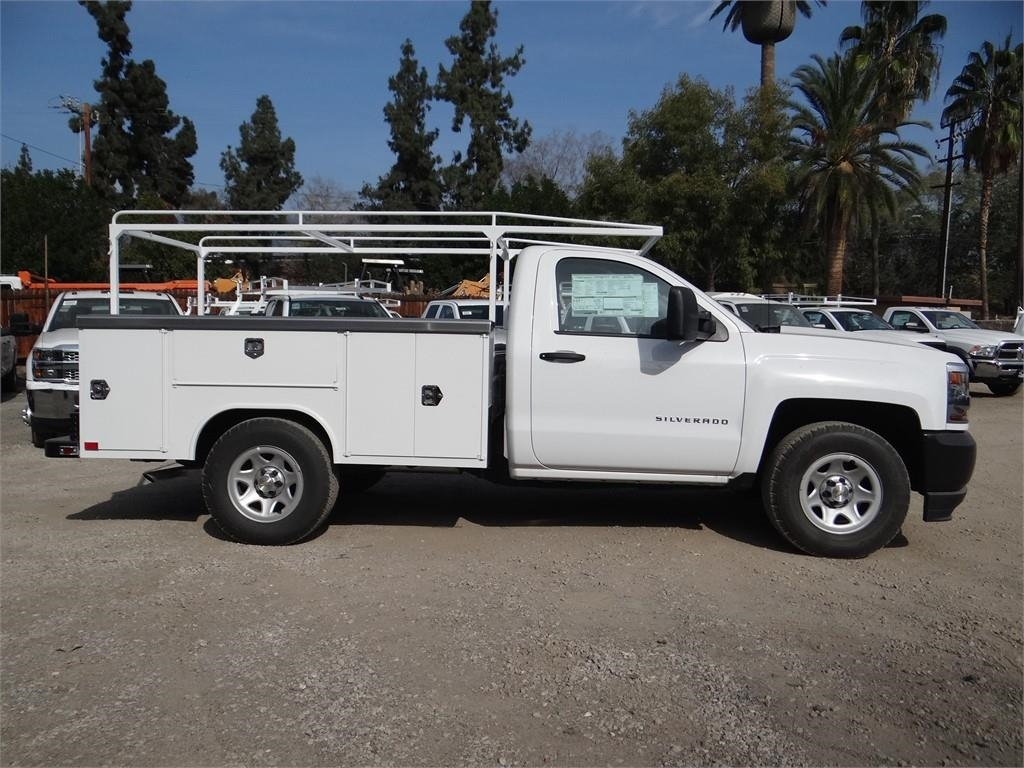 2018 Silverado 1500 Regular Cab 4x2,  Harbor Service Body #C158286 - photo 3
