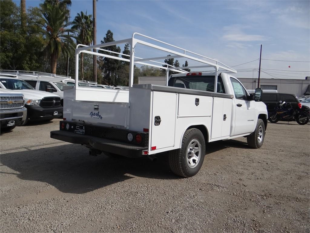 2018 Silverado 1500 Regular Cab 4x2,  Harbor Service Body #C158286 - photo 2