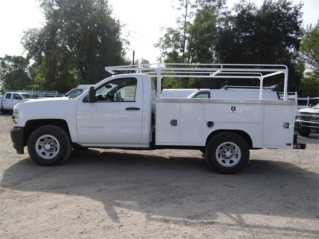 2018 Silverado 1500 Regular Cab 4x2,  Harbor Service Body #C158286 - photo 6