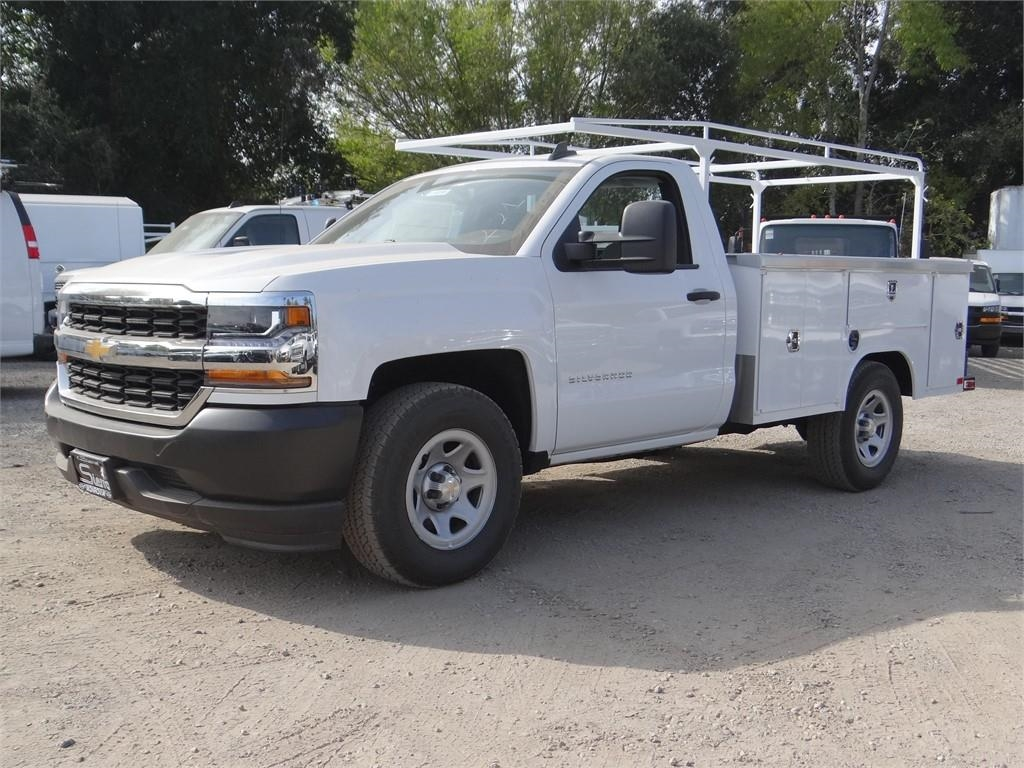 2018 Silverado 1500 Regular Cab 4x2,  Harbor Service Body #C158286 - photo 7