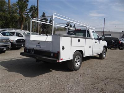 2018 Silverado 1500 Regular Cab 4x2,  Harbor TradeMaster Service Body #C158286 - photo 2
