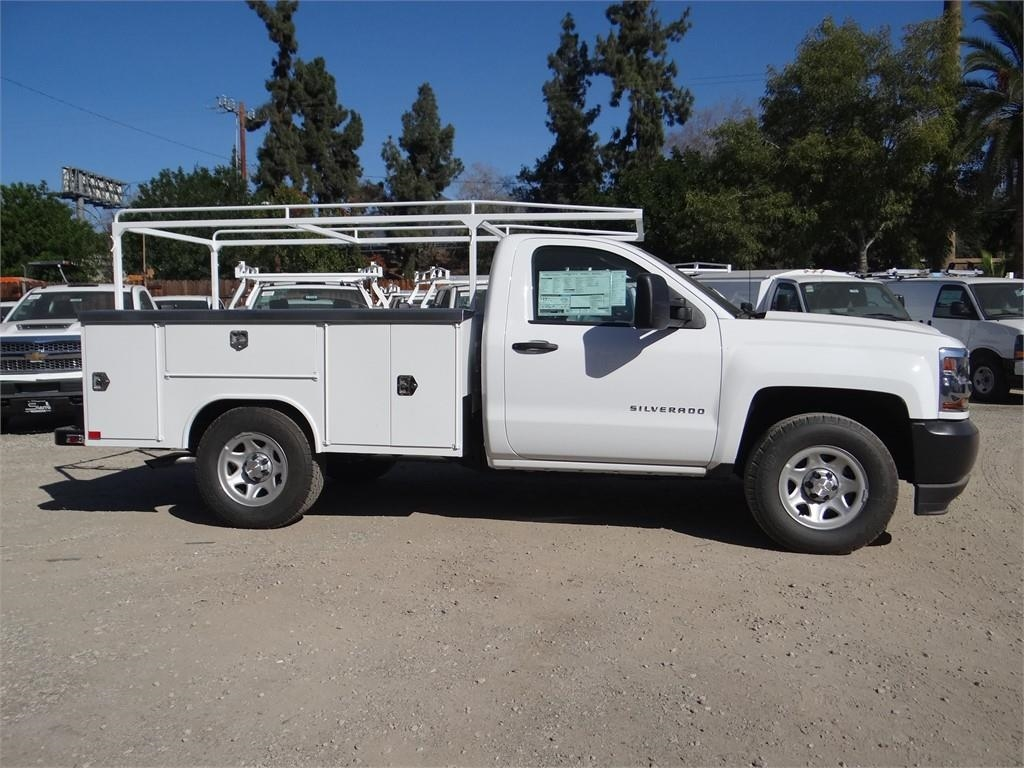 2018 Silverado 1500 Regular Cab 4x2,  Harbor Service Body #C158289 - photo 3
