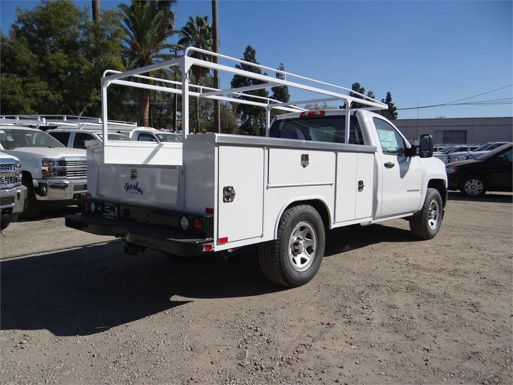 2018 Silverado 1500 Regular Cab 4x2,  Harbor Service Body #C158289 - photo 2