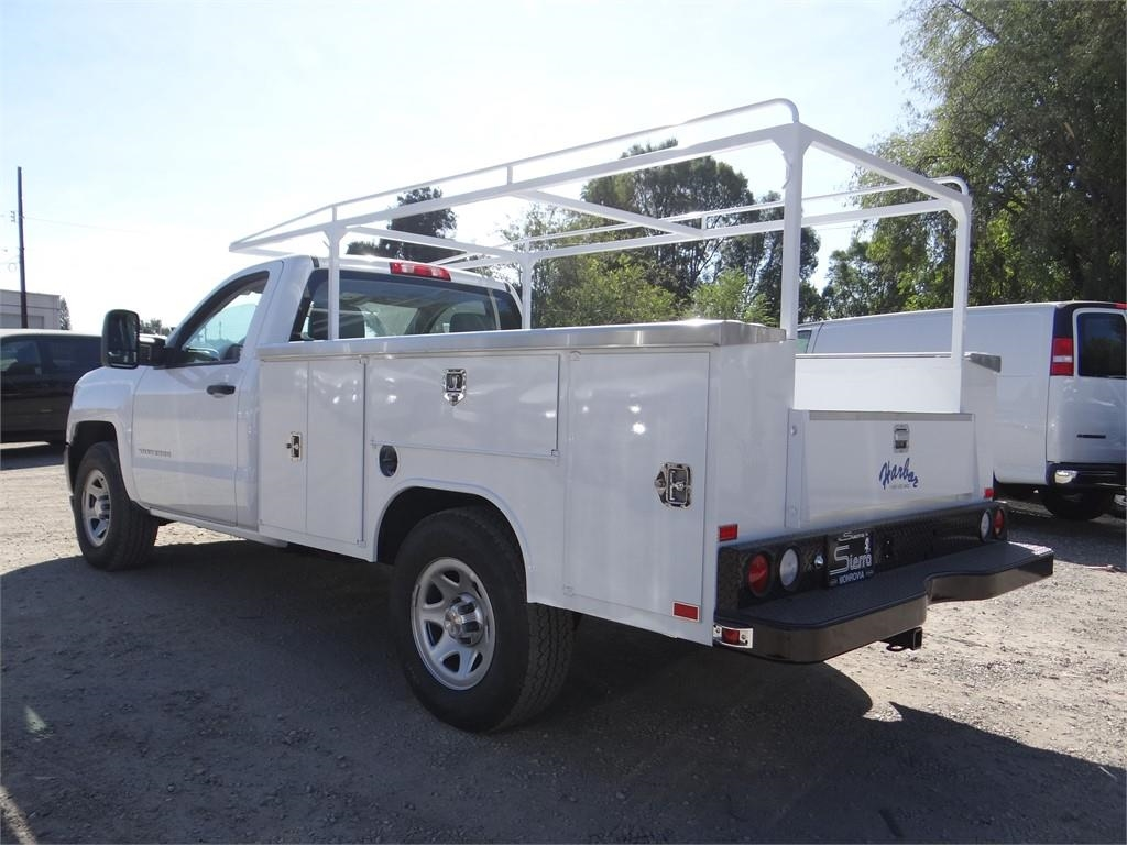 2018 Silverado 1500 Regular Cab 4x2,  Harbor Service Body #C158289 - photo 5