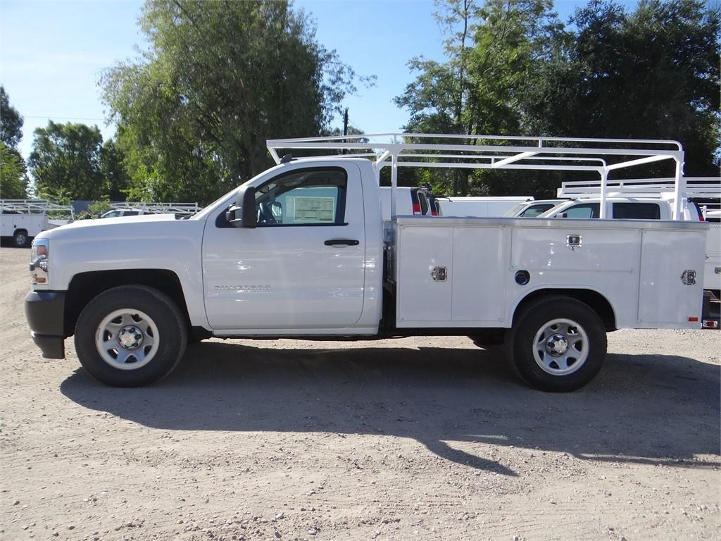2018 Silverado 1500 Regular Cab 4x2,  Harbor Service Body #C158289 - photo 6
