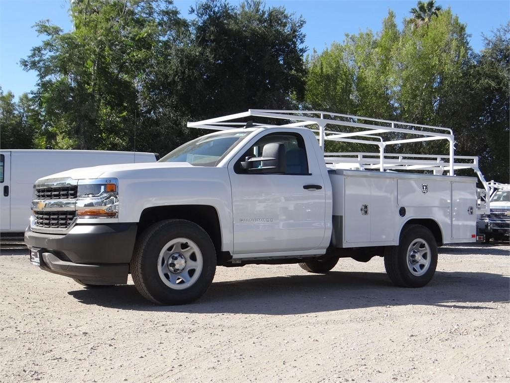 2018 Silverado 1500 Regular Cab 4x2,  Harbor Service Body #C158289 - photo 7
