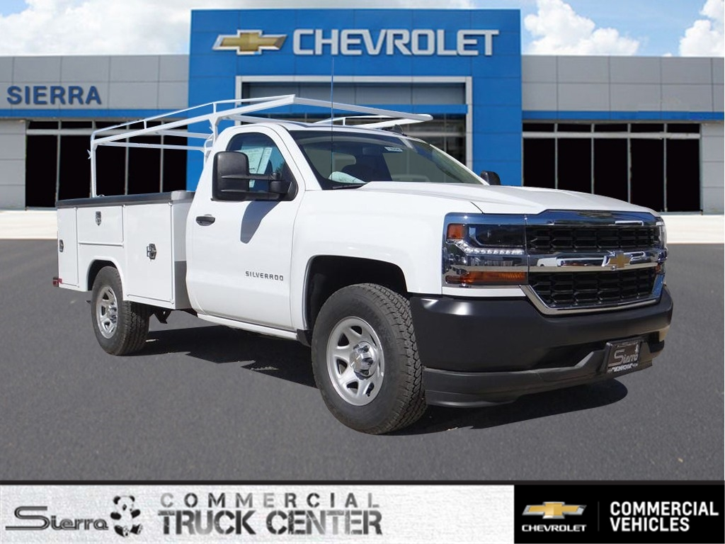 2018 Silverado 1500 Regular Cab 4x2,  Harbor Service Body #C158294 - photo 1