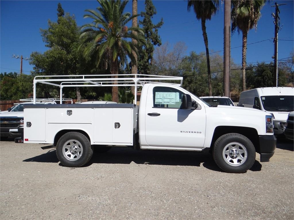 2018 Silverado 1500 Regular Cab 4x2,  Harbor Service Body #C158294 - photo 3