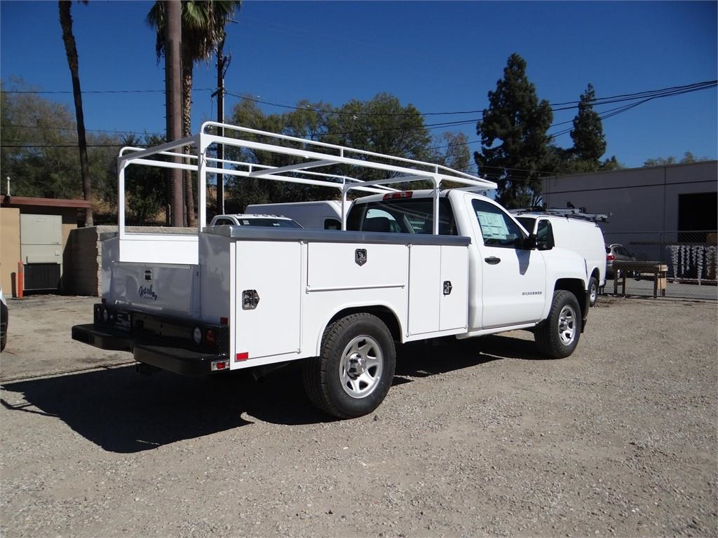 2018 Silverado 1500 Regular Cab 4x2,  Harbor Service Body #C158294 - photo 2