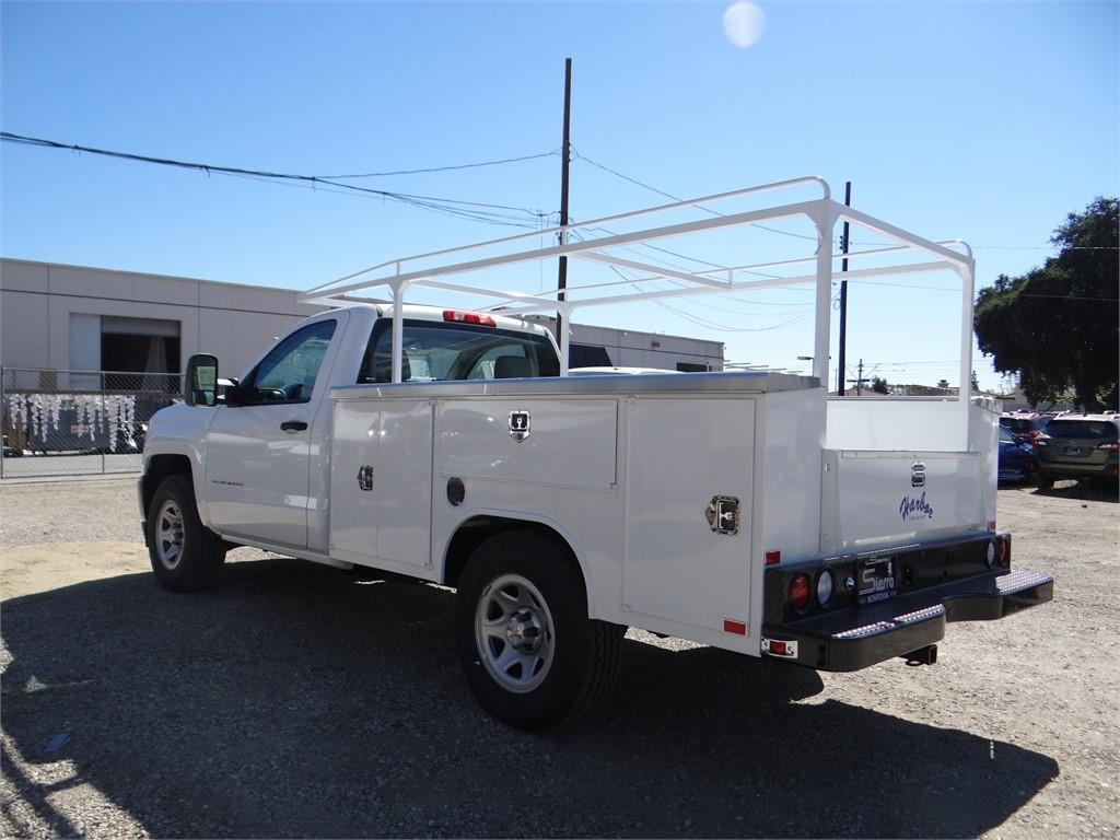 2018 Silverado 1500 Regular Cab 4x2,  Harbor Service Body #C158294 - photo 5