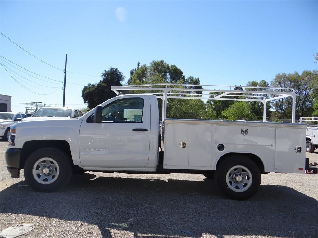 2018 Silverado 1500 Regular Cab 4x2,  Harbor Service Body #C158294 - photo 6