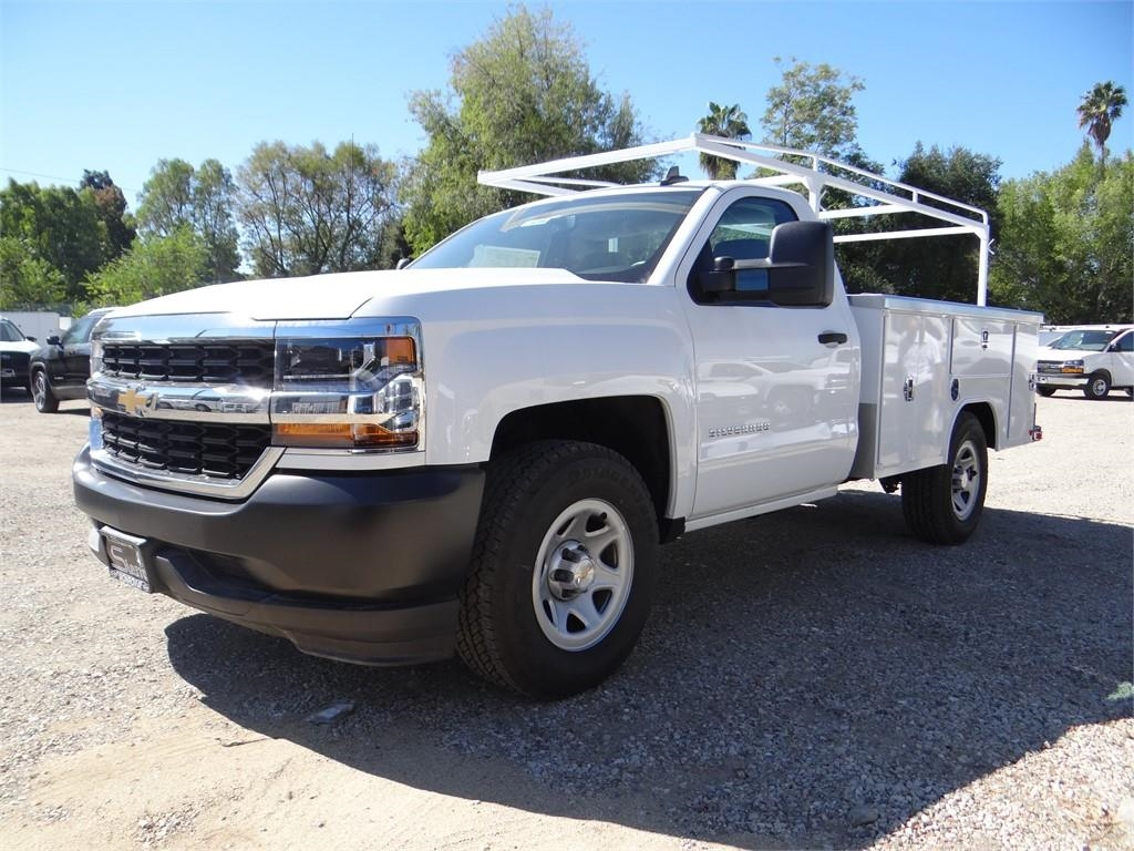 2018 Silverado 1500 Regular Cab 4x2,  Harbor Service Body #C158294 - photo 7
