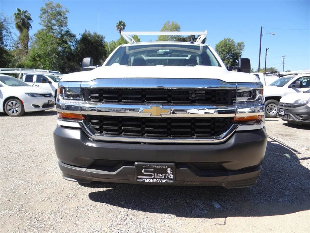 2018 Silverado 1500 Regular Cab 4x2,  Harbor Service Body #C158294 - photo 8