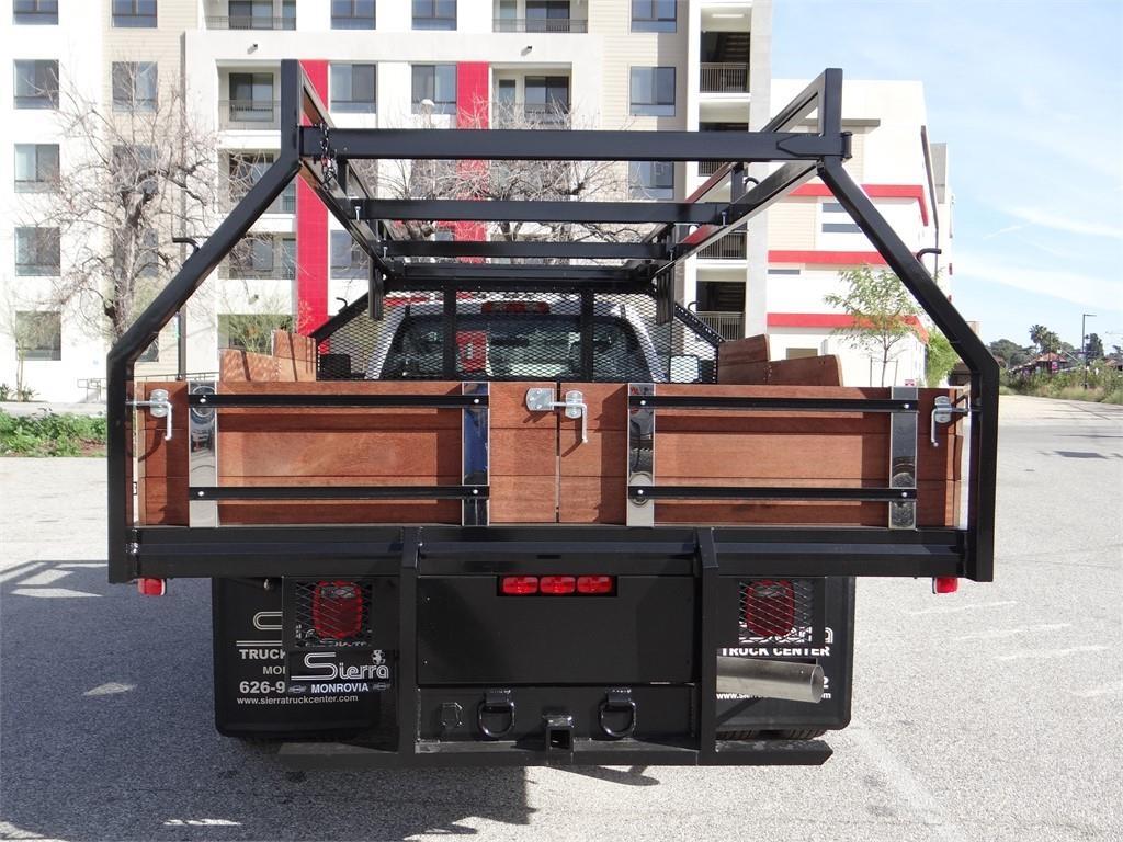 2019 Silverado 3500 Regular Cab 4x2,  Martin's Quality Truck Body Stake Bed #C158295 - photo 4