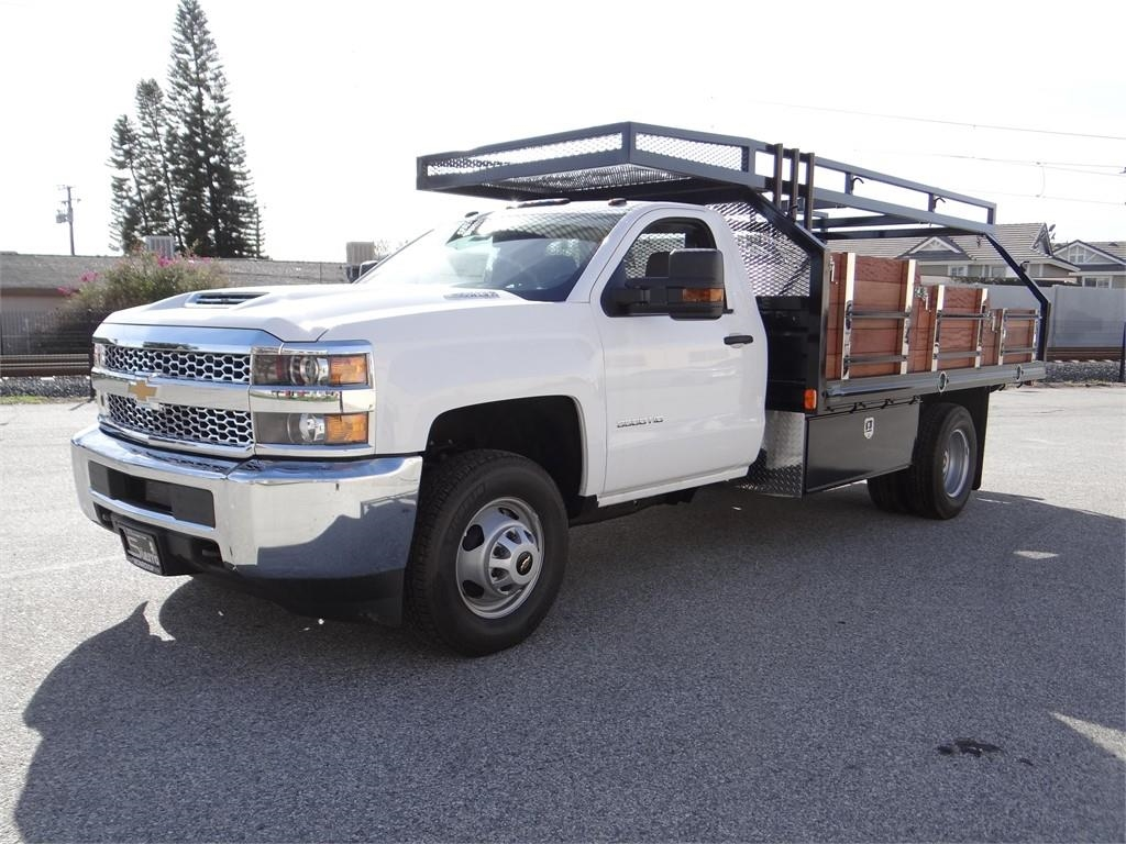2019 Silverado 3500 Regular Cab 4x2,  Martin's Quality Truck Body Platform Body #C158295 - photo 7