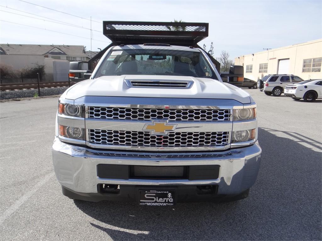2019 Silverado 3500 Regular Cab 4x2,  Martin's Quality Truck Body Stake Bed #C158295 - photo 8