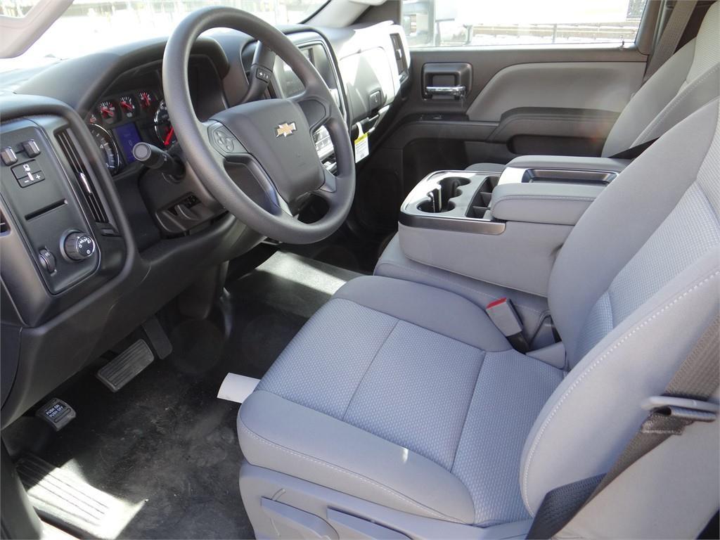 2019 Silverado 3500 Regular Cab 4x2,  Martin's Quality Truck Body Stake Bed #C158295 - photo 9