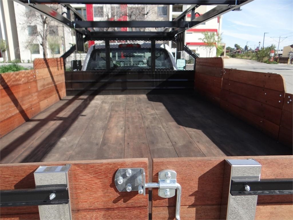 2019 Silverado 3500 Regular Cab 4x2,  Martin's Quality Truck Body Stake Bed #C158295 - photo 20