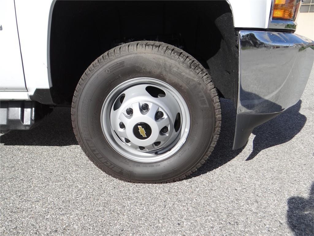 2019 Silverado 3500 Regular Cab 4x2,  Martin's Quality Truck Body Stake Bed #C158295 - photo 25