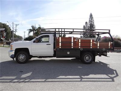 2019 Silverado 3500 Regular Cab 4x2,  Martin's Quality Truck Body Platform Body #C158295 - photo 6