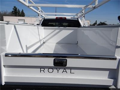2019 Silverado 2500 Double Cab 4x2,  Royal Service Body #C158423 - photo 21