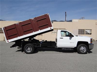 2019 Silverado 3500 Regular Cab 4x2,  Royal Landscape Dump #C158443 - photo 3
