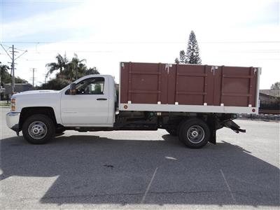 2019 Silverado 3500 Regular Cab 4x2,  Royal Landscape Dump #C158443 - photo 6