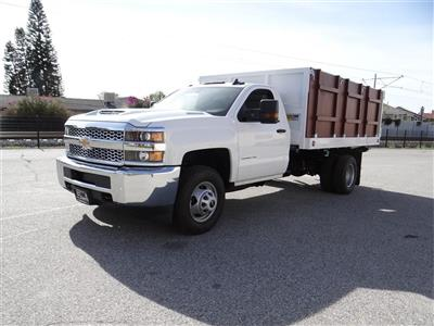 2019 Silverado 3500 Regular Cab 4x2,  Royal Landscape Dump #C158443 - photo 7