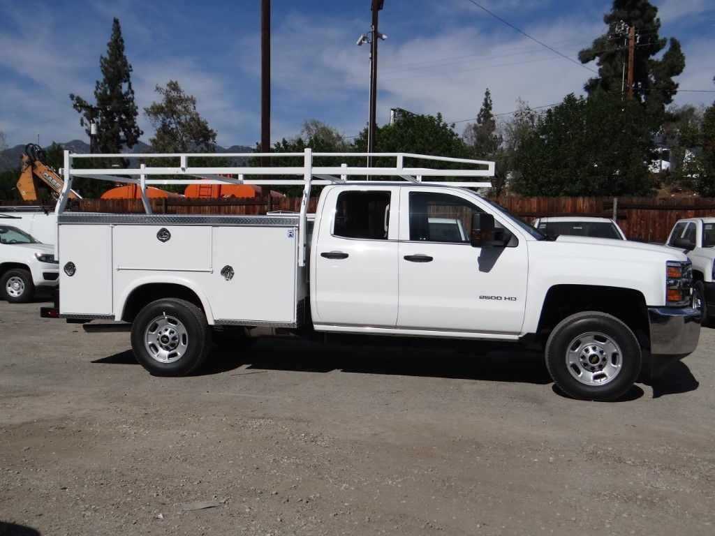 2019 Silverado 2500 Double Cab 4x2,  Royal Service Body #C158499 - photo 3