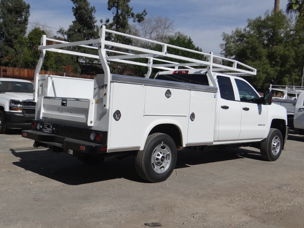 2019 Silverado 2500 Double Cab 4x2,  Royal Service Body #C158499 - photo 2