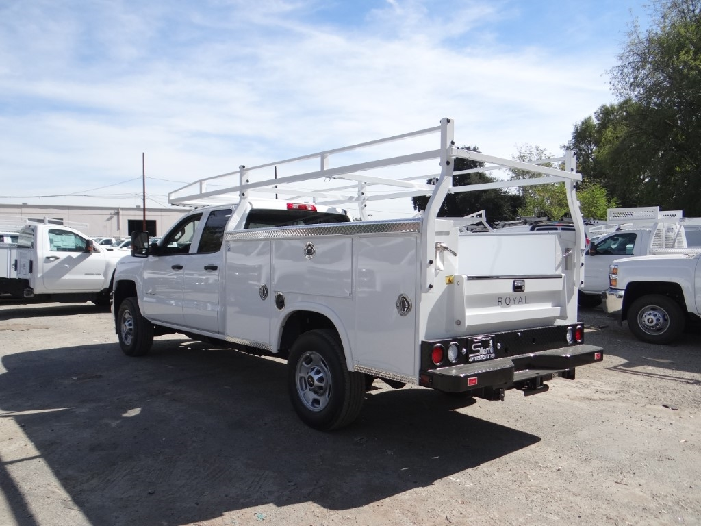 2019 Silverado 2500 Double Cab 4x2,  Royal Service Body #C158499 - photo 5
