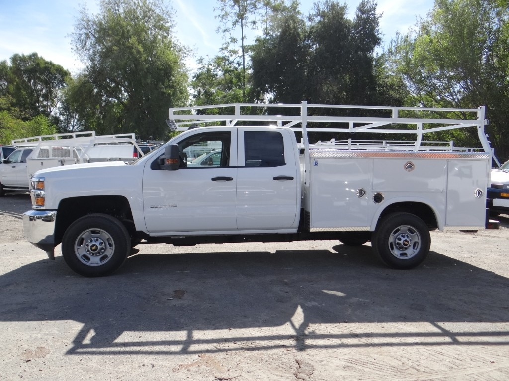 2019 Silverado 2500 Double Cab 4x2,  Royal Service Body #C158500 - photo 6