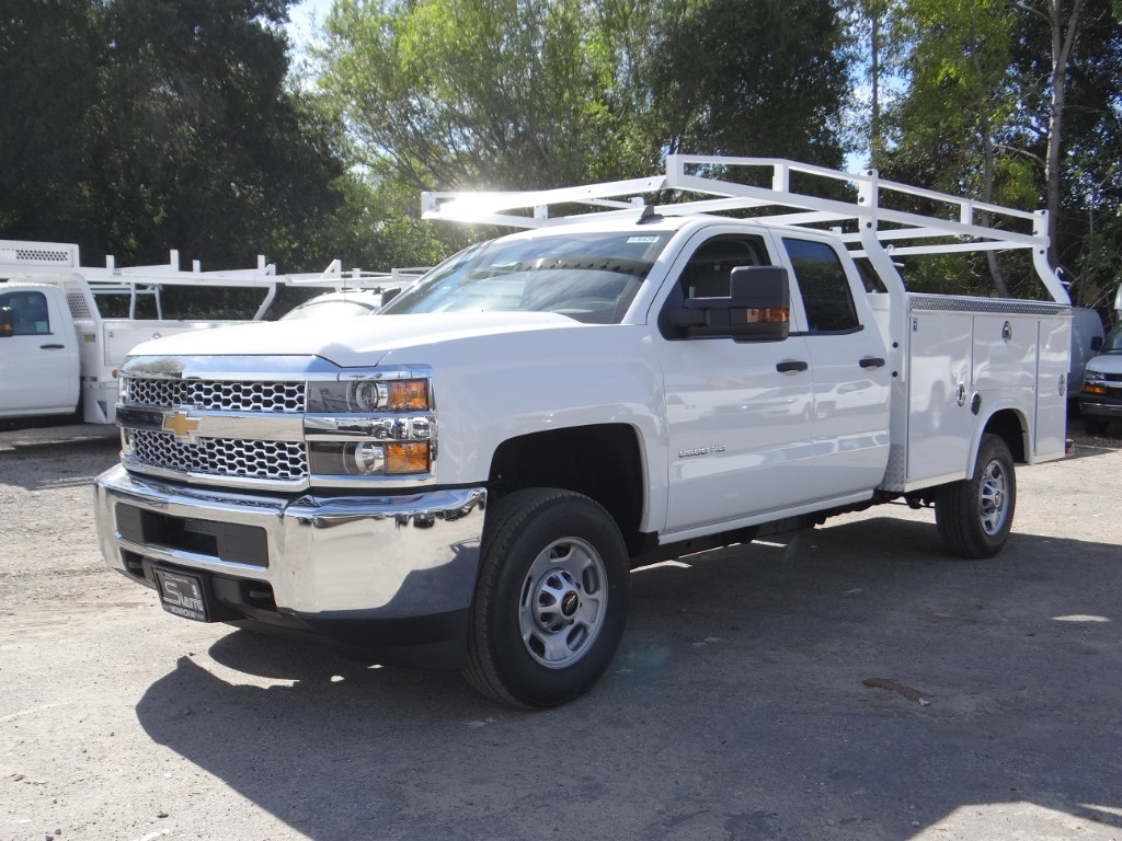 2019 Silverado 2500 Double Cab 4x2,  Royal Service Body #C158500 - photo 7