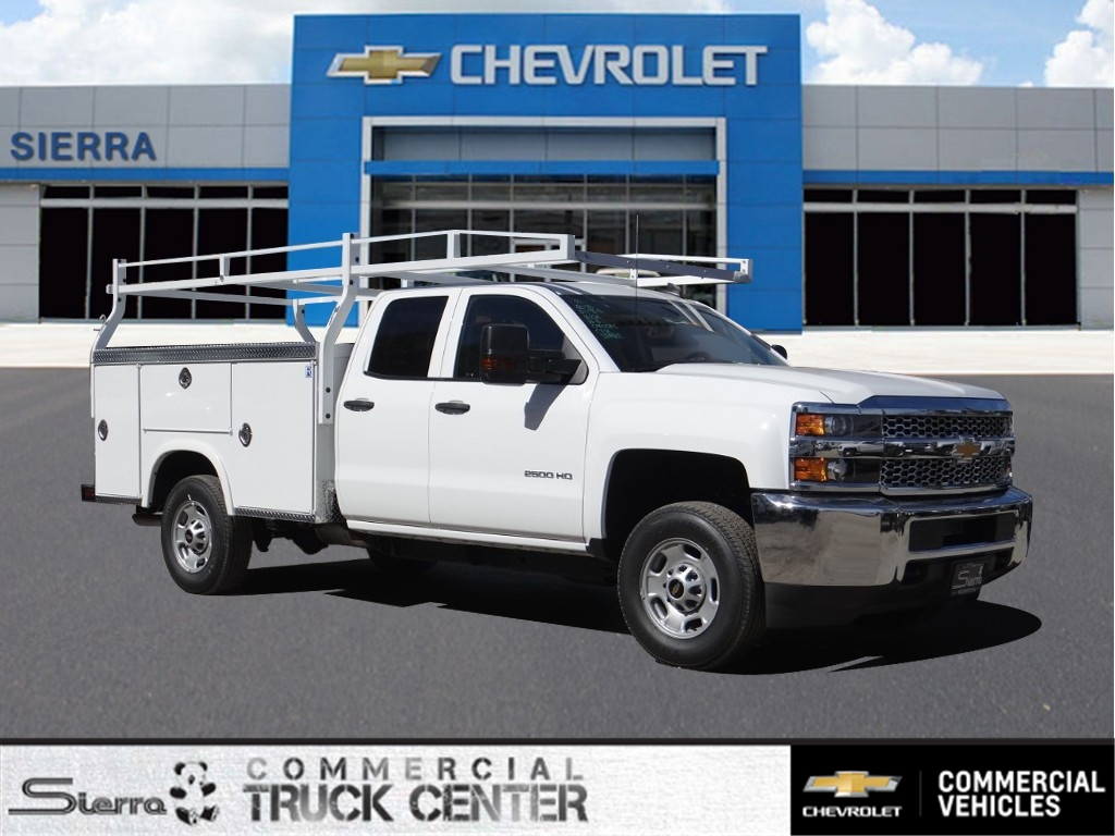 2019 Silverado 2500 Double Cab 4x2,  Royal Service Body #C158503 - photo 1
