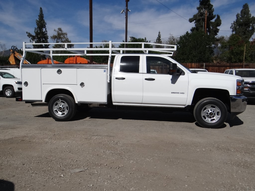 2019 Silverado 2500 Double Cab 4x2,  Royal Service Body #C158508 - photo 3