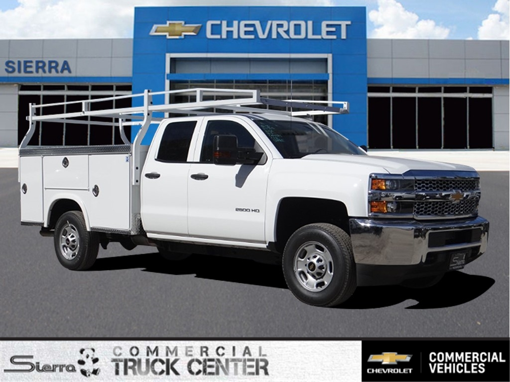 2019 Silverado 2500 Double Cab 4x2,  Royal Service Body #C158529 - photo 1