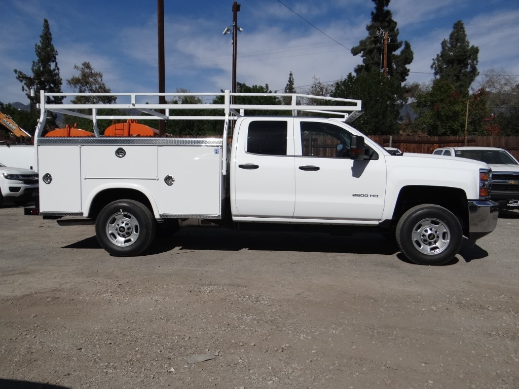 2019 Silverado 2500 Double Cab 4x2,  Royal Service Body #C158529 - photo 3