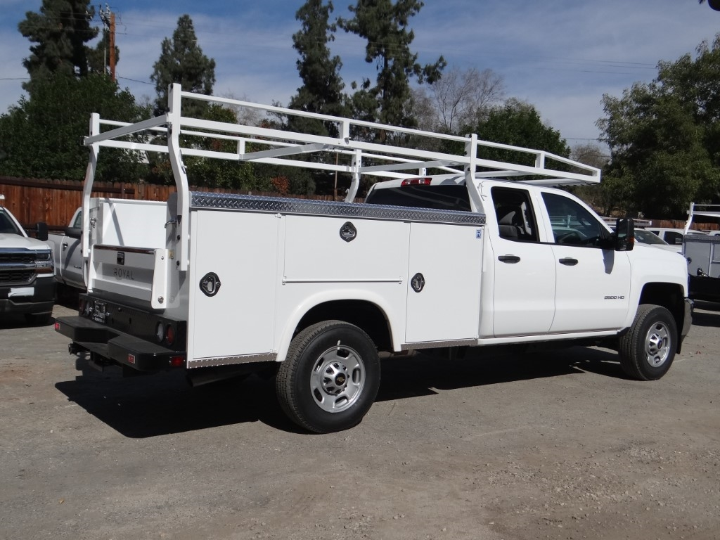 2019 Silverado 2500 Double Cab 4x2,  Royal Service Body #C158531 - photo 2