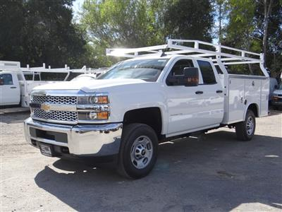 2019 Silverado 2500 Double Cab 4x2,  Royal Service Body #C158531 - photo 7