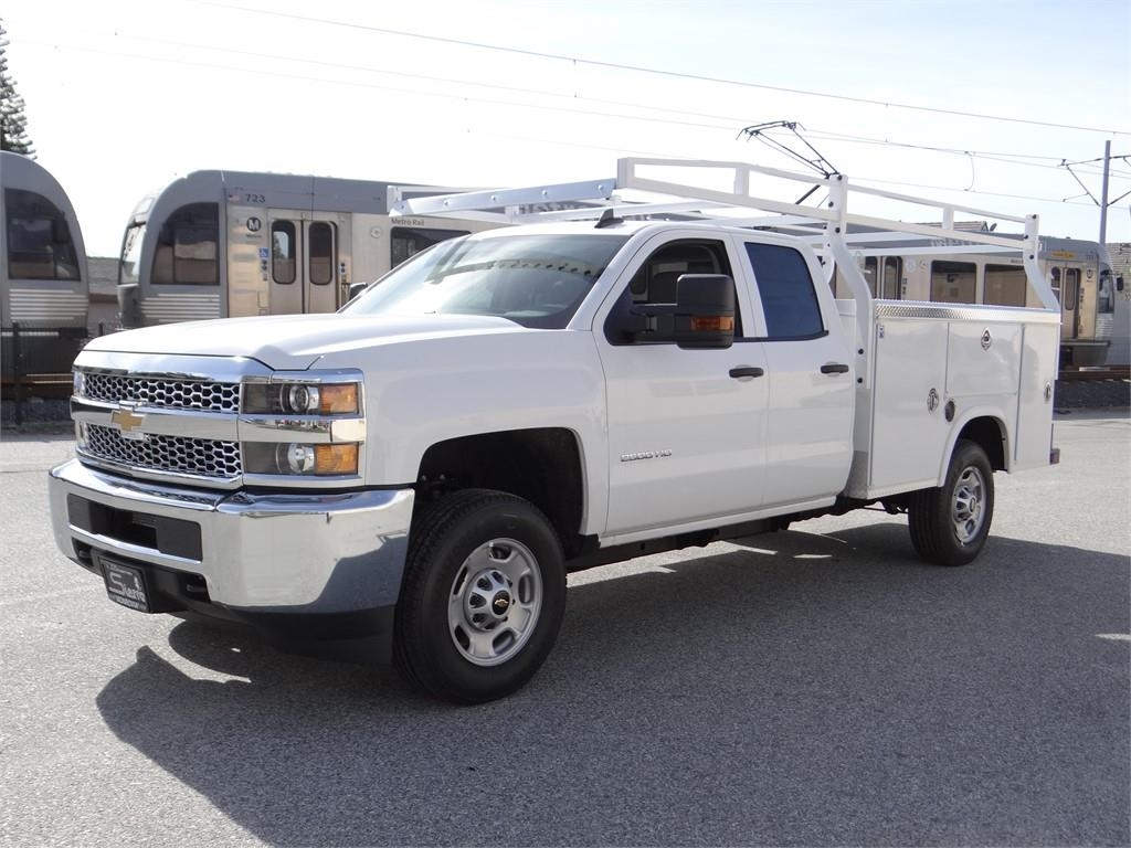 2019 Silverado 2500 Double Cab 4x2,  Royal Service Body #C158532 - photo 8