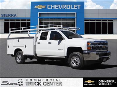 2019 Silverado 2500 Double Cab 4x2,  Royal Service Body #C158532 - photo 1