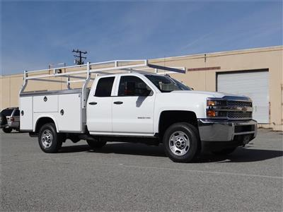 2019 Silverado 2500 Double Cab 4x2,  Royal Service Body #C158532 - photo 3
