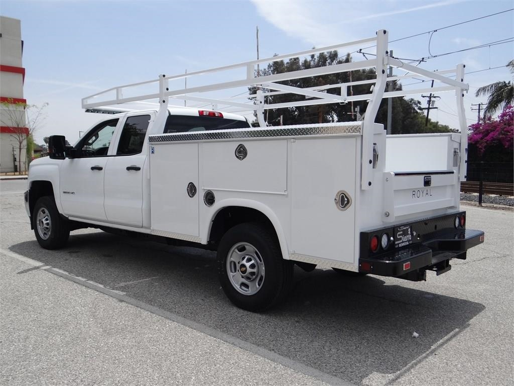 2019 Silverado 2500 Double Cab 4x2,  Royal Service Body #C158567 - photo 4