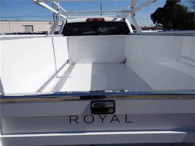 2019 Silverado 2500 Double Cab 4x2,  Royal Service Body #C158568 - photo 20