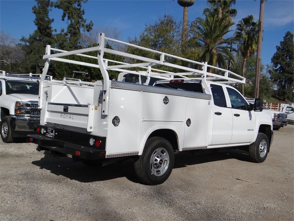 2019 Silverado 2500 Double Cab 4x2,  Royal Service Body #C158571 - photo 1