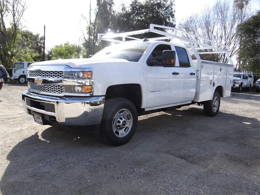 2019 Silverado 2500 Double Cab 4x2,  Royal Service Body #C158571 - photo 6