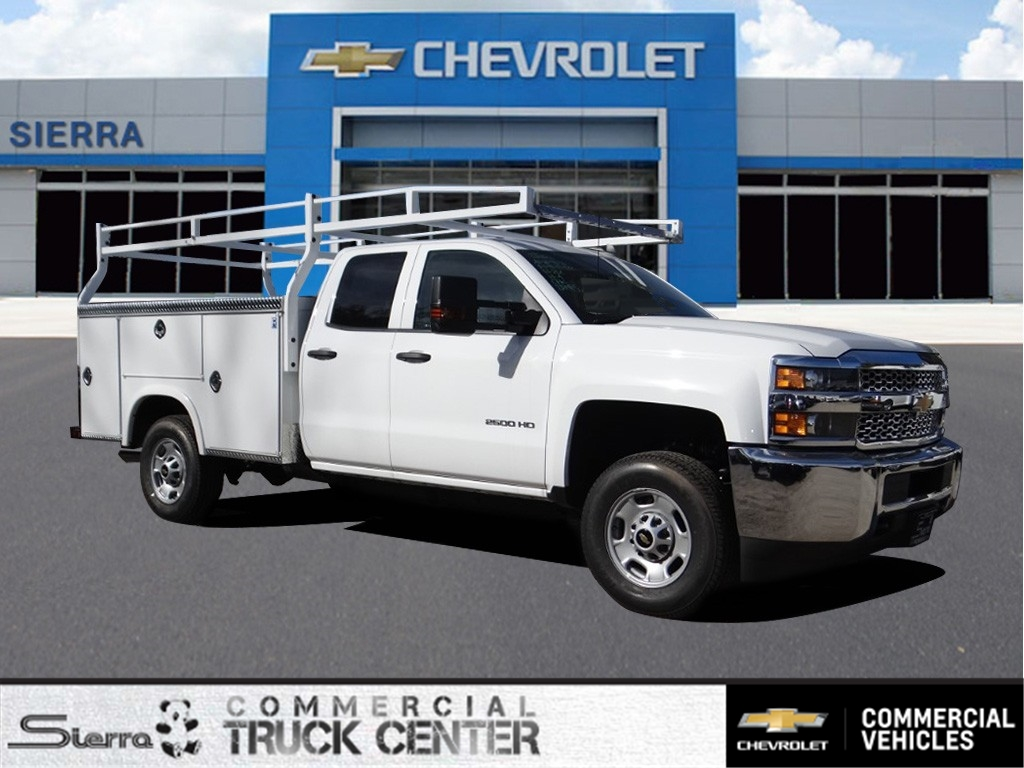 2019 Silverado 2500 Double Cab 4x2,  Royal Service Body #C158663 - photo 1