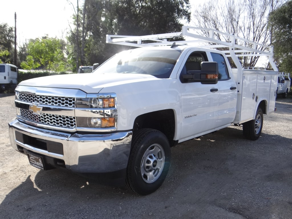 2019 Silverado 2500 Double Cab 4x2,  Royal Service Body #C158663 - photo 6