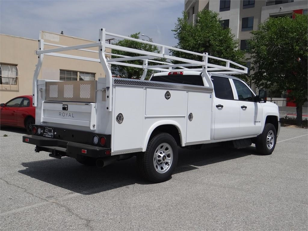 2019 Silverado 3500 Crew Cab 4x2, Royal Service Body #C158715 - photo 1